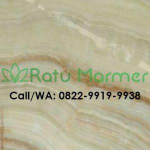 Marmer Onix Green Sejajar